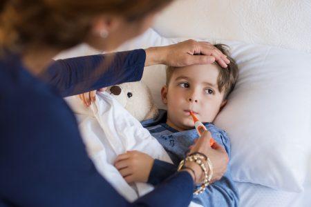 Cum se manifesta raceala la copii?