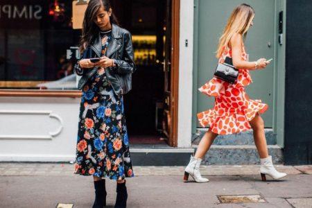 5 stiluri de purtare a rochiei midi