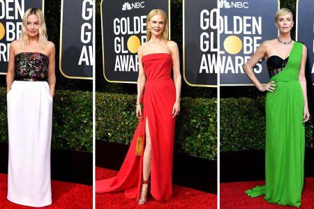 Topul tinutelor de pe covorul rosu la Globurile de Aur 2020