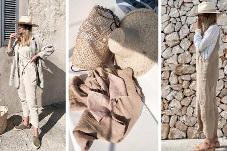 Bej, printre nuantele naturale la moda